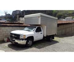 Chevrolet Silverado 3500 Camión Furgón 2012