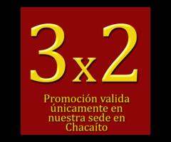 Promocion 3x2 tratamientos corporales