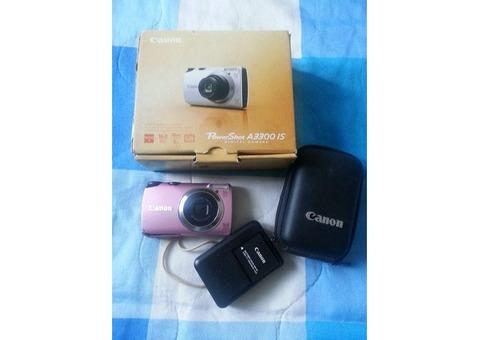 Cámara Digital Canon PowerShot A3300 IS