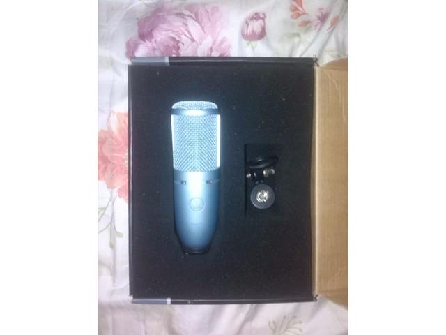 Vendo Microfono Condensador Akg 120 - O Cambio Por Iphone - 1/4