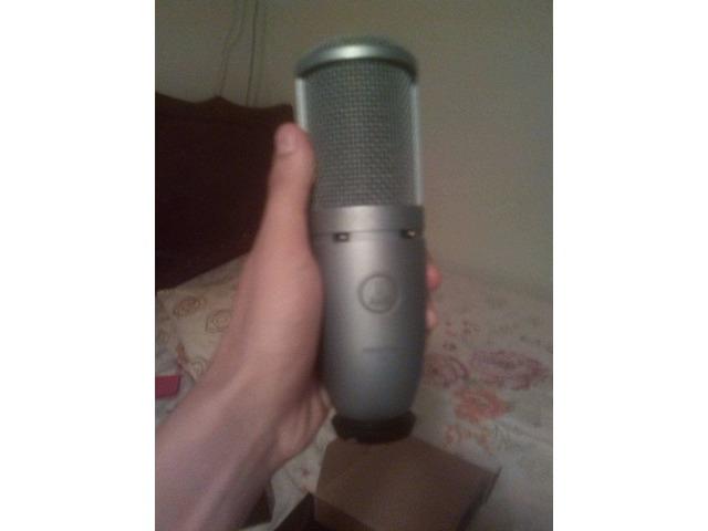 Vendo Microfono Condensador Akg 120 - O Cambio Por Iphone - 3/4