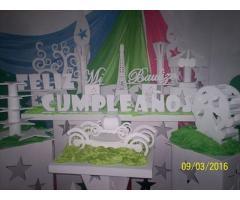 Decoraciones de fiestas  decoracion de fiestas tematicas alquiler de mobiliario alquiler de candy ba