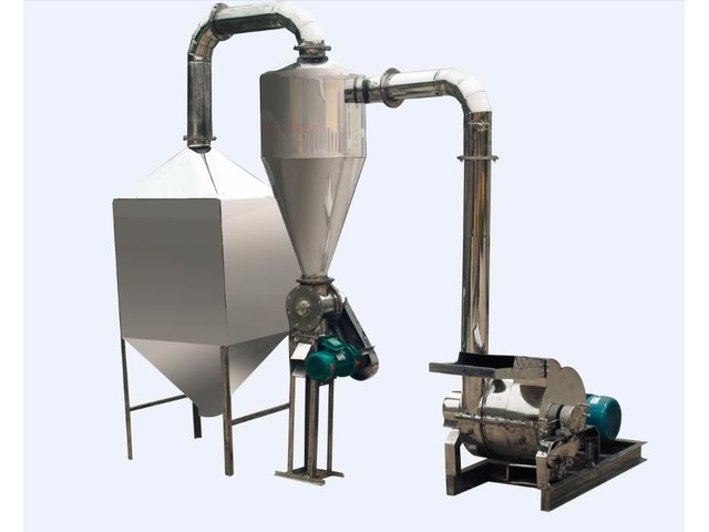 Molino de acero inoxidable para harina 150-300 kg hora consumo humano - 1/1
