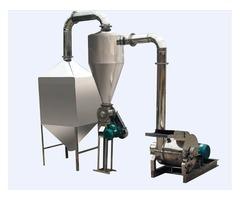 Molino de acero inoxidable para harina 150-300 kg hora consumo humano