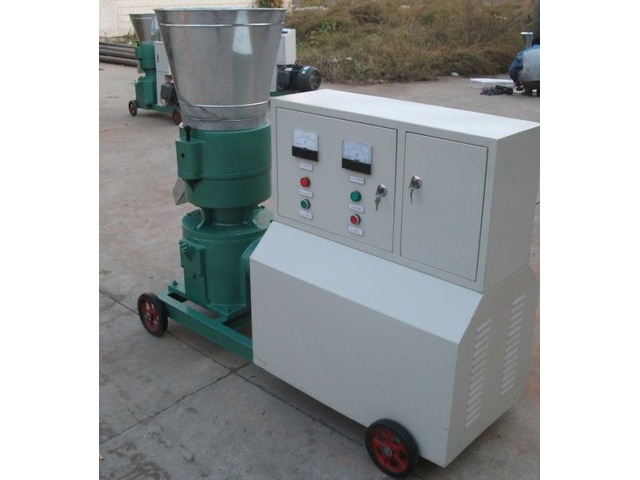 Maquina para pellets con madera 300 mm electrica 250/400 kg h - 1/1