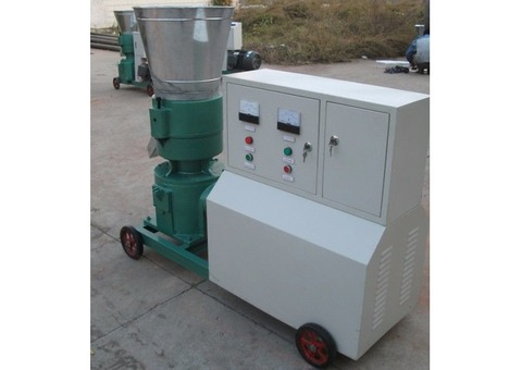 Maquina para pellets con madera 300 mm electrica 250/400 kg h