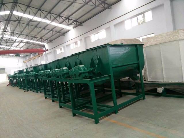 Mezcladora horizontal 500 kg por hora 7.5kw - 1/1