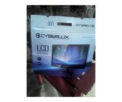 "Monitor de computadora LCD Cyberlux 19"""