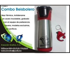 Combo de Vasos Beibolero Cardenales de Lara