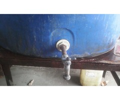 tanque de agua marca resinca de 1500 litros
