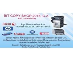 Mantenimiento y Reparacion de Fotocopiadoras