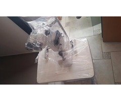 lampara de hendidura con mesa hidraulica topcom