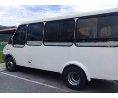 camioneta de pasajeros iveco 21 puestos