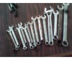 juego de rache americano  , con llaves , tijeras