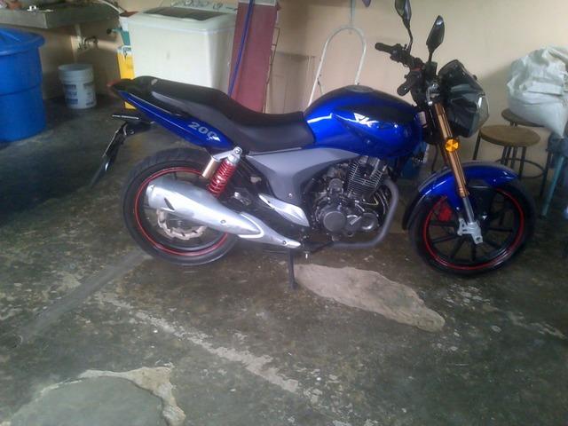 moto rkv año 2013 y horse 2010 - 1/5