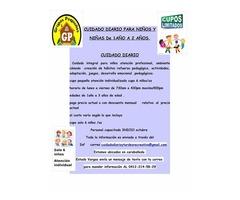 CUIDADO DIARIO  NIÑoS y  ACTIVIDADES EN LAS TARDES  PARA NIÑOS/AS