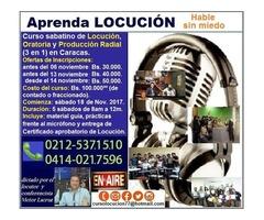 *Curso de Locución, Oratoria y PNI* (3 en 1)- Noviembre