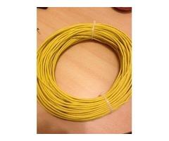 cable de Red c5 Amarillo