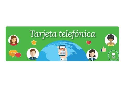 Ofrecemos el servicio de tarjeta telefónica (sim) especial para estudiantes