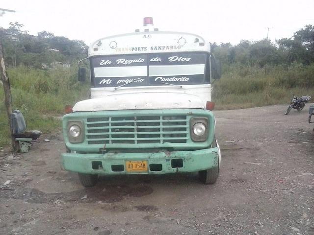Vendo Autobús Ford Año 78 - 1/6