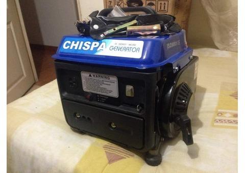 PLANTA ELECTRICA o GENERADOR  CHISPA  CALIDAD ISO 9001  950 W   ORIGINAL NUEVO