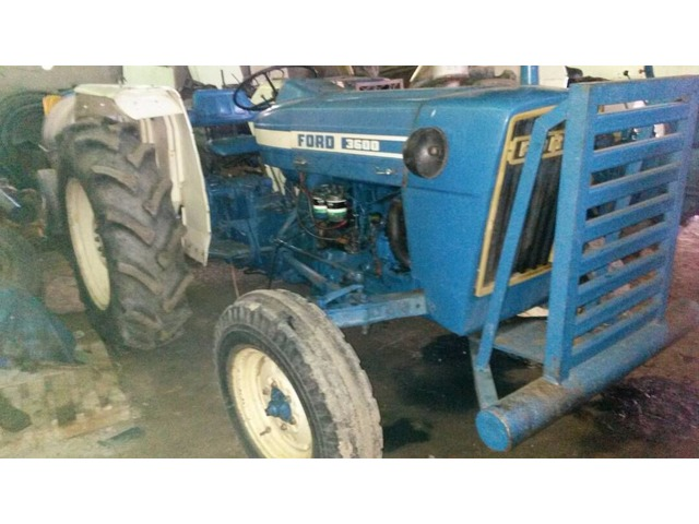 TRACTOR FORD 3600 - 1/4