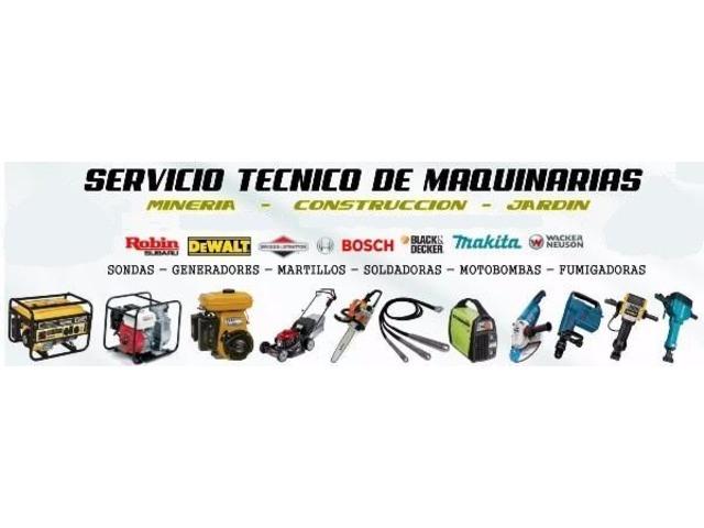 Alquiler Trompo Andamio Rana Martillo Vibrador Electrico - 5/6