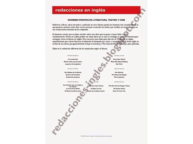 Redacción y copywritter documentos académicos y empresariales en Inglés - 6/6