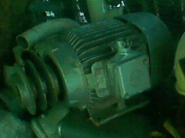 MOTOR 6.6 HP BROWN BOVERI - 1/4