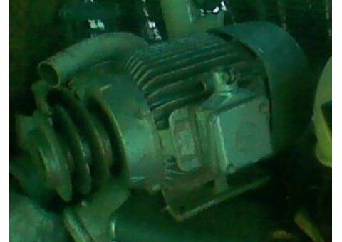 MOTOR 6.6 HP BROWN BOVERI