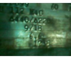 MOTOR 6.6 HP BROWN BOVERI - Imagen 4/4
