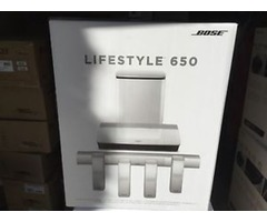 Bose Lifestyle 650 Home Theater System with OmniJewel Speakers (White)