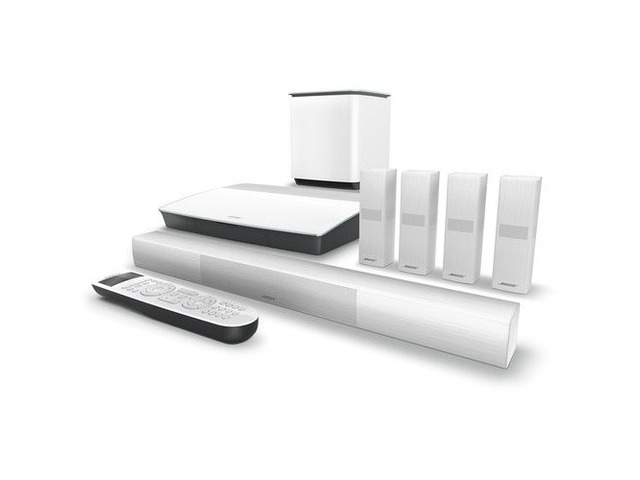 Bose Lifestyle 650 Home Theater System with OmniJewel Speakers (White) - 2/2