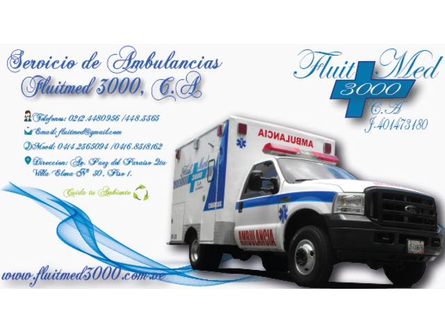 Ambulancias Fluitmed 3000 C.A - 1/3