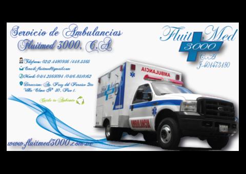 Ambulancias Fluitmed 3000 C.A