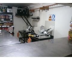 Maquinaría y Mobiliario Completo de Charcutería