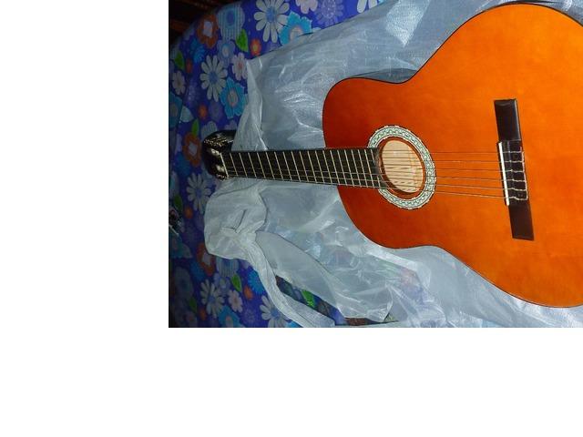 Vendo guitarra nueva marca Vizcaya - 1/6