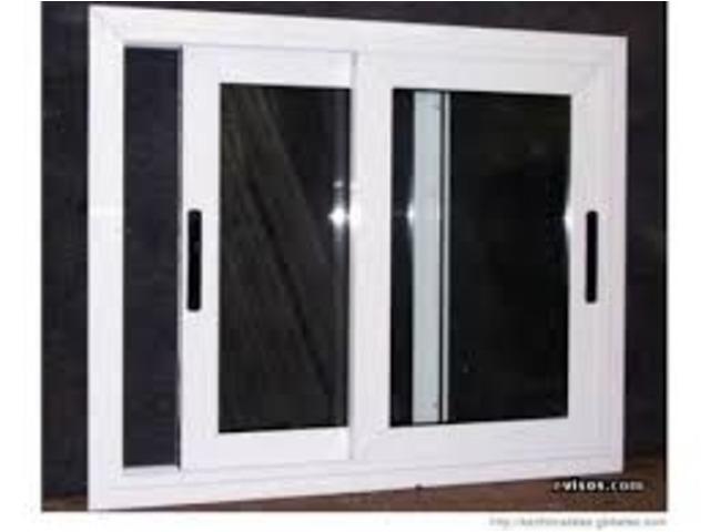 Puertas templex, puertas de baño, ventanas, rejas de aluminio - 1/4