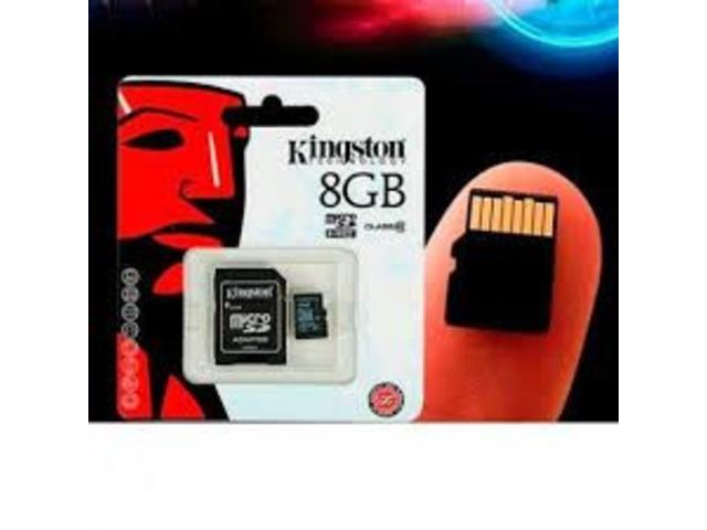 MicroSD 8gb Kingston - 2/3