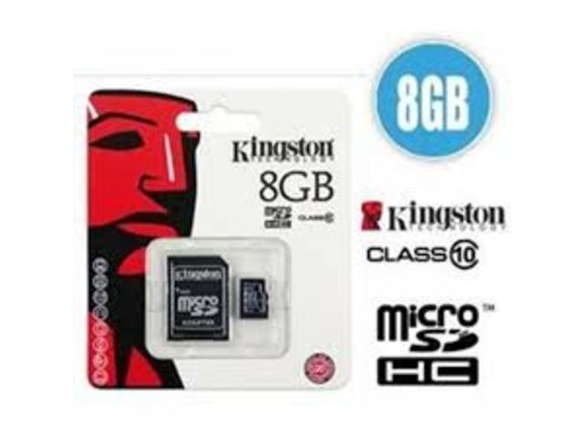 MicroSD 8gb Kingston - 3/3
