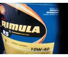 ACEITE SHELL RIMULA R5 SINTETICO 10W 40 SELLADO PAILA 20LTS