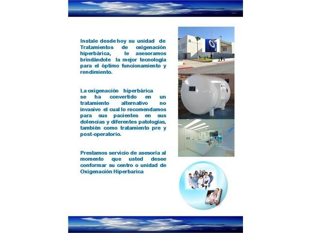 CAMARAS HIPERBARICAS FABRICACION ASESORIA INSTALACION - 1/5
