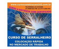 Curso de Serralheiro - cursoconstrucaocivil.com.br