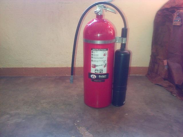 extintor de Co2 - 3/4