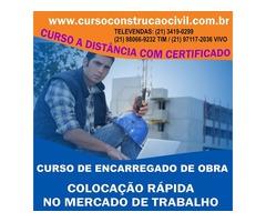 Curso De Encarregado De Obra - cursoconstrucaocivil.com.br