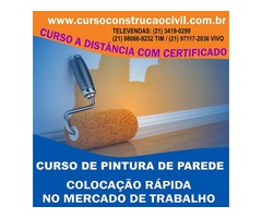Curso De Pintura De Parede - cursoconstrucaocivil.com.br