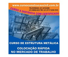 Curso De Estrutura Metálica - cursoconstrucaocivil.com.br