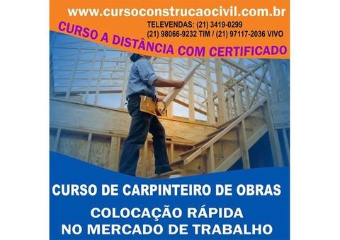 Curso De Carpinteiro De Obras - cursoconstrucaocivil.com.br