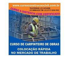 Curso De Carpintaria - cursoconstrucaocivil.com.br
