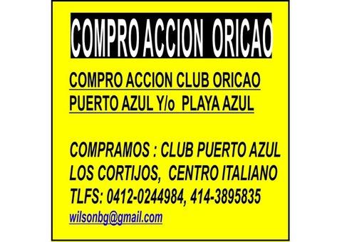 COMPRO ACCIONES CLUB PUERTO AZUL, PLAYA GRANDE, VALLE ARRIBA, TACHIRA,